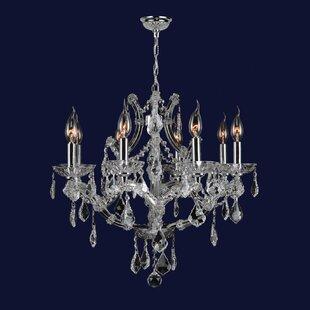 Willa Arlo Interiors Zhora 8-Light Candle..