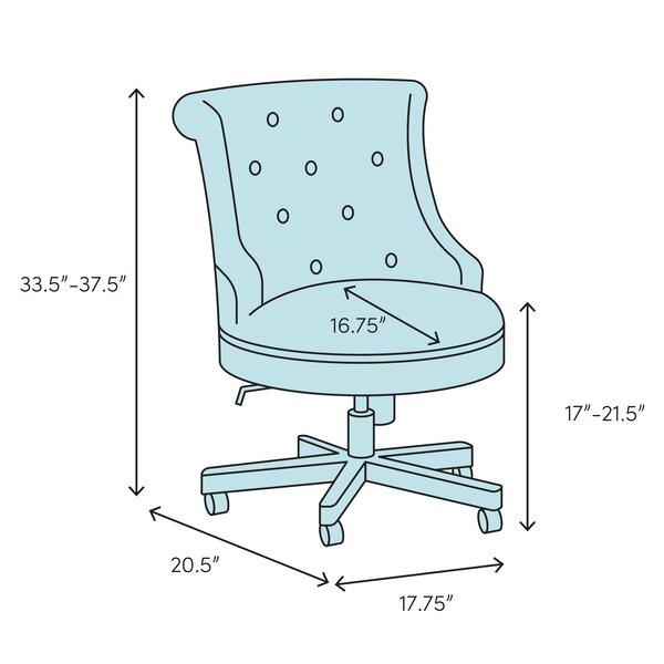Ebern Designs Felicien Task Chair Wayfair