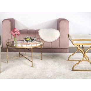 Ariella Mirrored Coffee Table