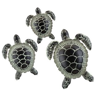 3 Piece Sea Turtle Wall Decor Set By Regal Art & Gift