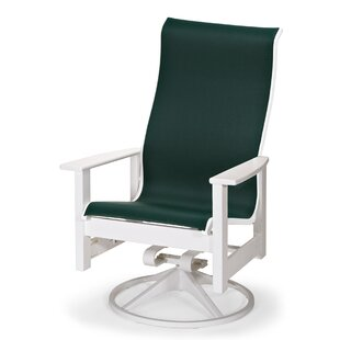 Leeward Swivel Patio Dining Chair