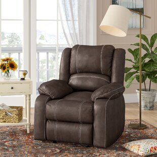 Honea Traditional Manual Glider Recliner by Alcott Hill