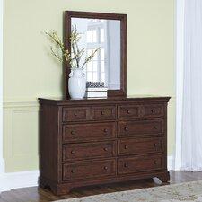 Curran 8 Drawer Dresser with Mirror by Three Posts