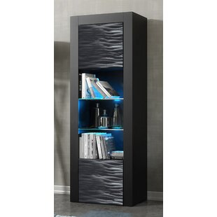 Ranallo Wavy Fronts Matte Body Barrister Bookcase