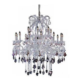 Allegri by Kalco Lighting Lorraine 18-Light Candle Style Chandelier
