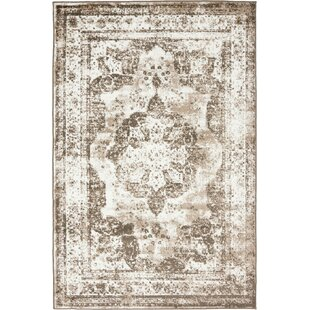 Best Reviews Brandt Light Brown Area Rug By Mistana