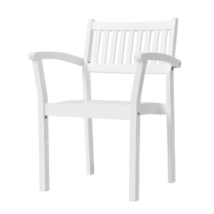 Matoury Stackable Patio Dining Chair (Set of 2)
