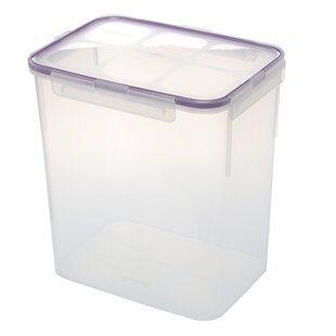 184 Oz. Rectangular Plastic Food Storage Container