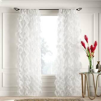 Ellis Curtain Reston Single Curtain Panel Reviews Wayfair