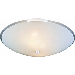 3-Light Ceiling Fixture Semi-Flush Mount by Volume Lighting