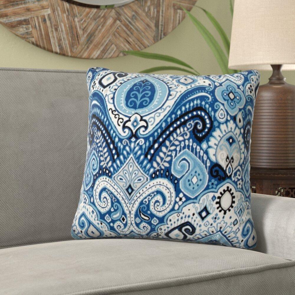 Bungalow Rose Mokane Zippered Indoor Outdoor Throw Pillow Wayfair