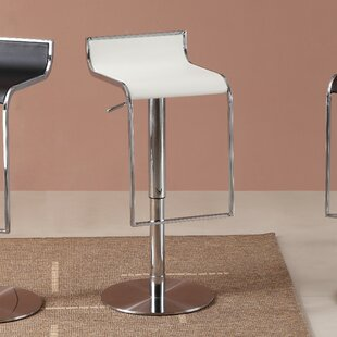 Price Check Lalani Adjustable Height Swivel Bar Stool by Orren Ellis Reviews (2019) & Buyer's Guide