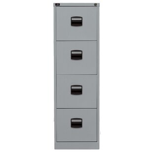 Review Light 4 Drawer Filing Cabinet