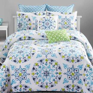 Winston Porter Rarick Cotton 7 Piece Comforter Set