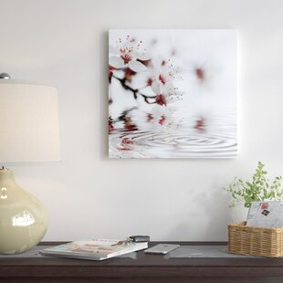 U0027White Cherry Blossom   Squareu0027 Photographic Print On Canvas