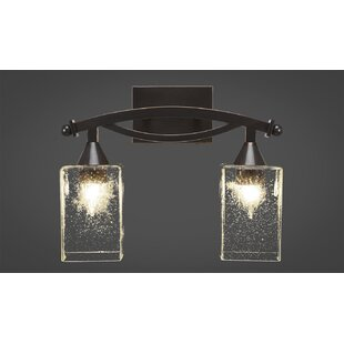 Budget Wealdstone 2-Light Vanity Light By Winston Porter