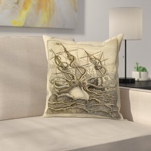 Kraken Original Throw Pillow