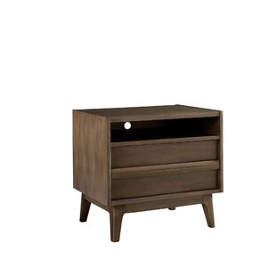 George Oliver Calvillo 2 Drawer Nightstand