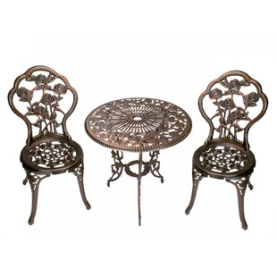 Astoria Grand Governor 3 Piece Bistro Set