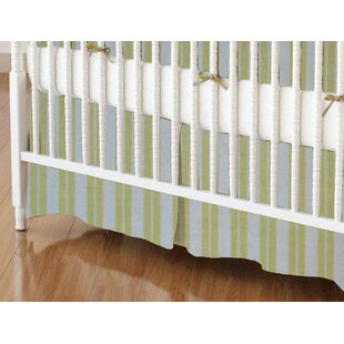 Check Prices Dual Stripe Crib Skirt BySheetworld