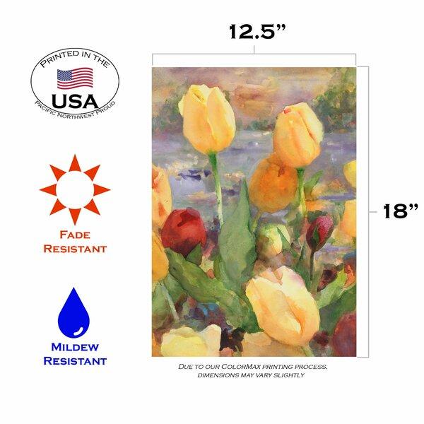 Toland Home Garden Tulip Gold Garden Flag Wayfair