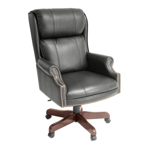 Regency Ivy League High Back Leather Executive Chair U0026 Reviews | Wayfair