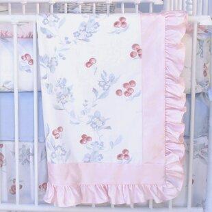 Savings Cherry Blossom Crib Quilt ByBlueberrie Kids