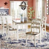 Strongsville 7 Piece Dining Set by Three Posts™