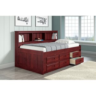 Comeau Captains Bed with Drawer by Harriet Bee