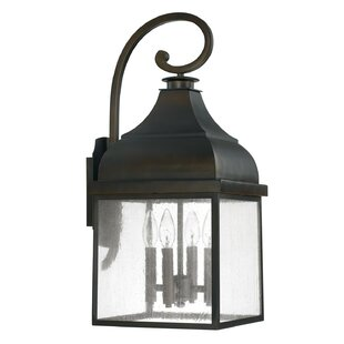 Arnette 4-Light Outdoor Wall Lantern
