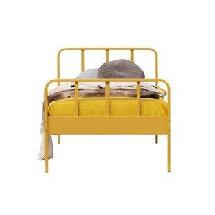 Runyan European Single (90 X 200cm) Bed Frame By Mercury Row