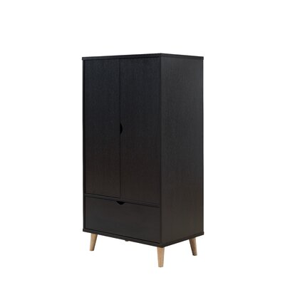 Trule Teen Bowie Armoire Color: Cappuccino