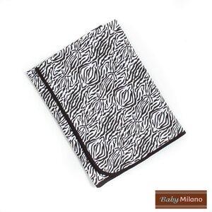 Baby Blanket in Zebra Print