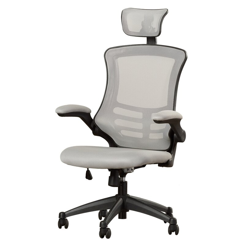 wade logan lottie mesh desk chair & reviews | wayfair