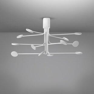 ZANEEN design Arbor 12-Light LED Flush Mount
