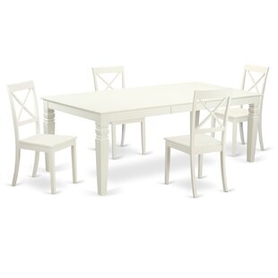 Beever 5 Piece Dining Set DarHome Co
