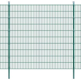 2D 131' X 7' (40m X 2.03m) Picket Fence Panel By Sol 72 Outdoor