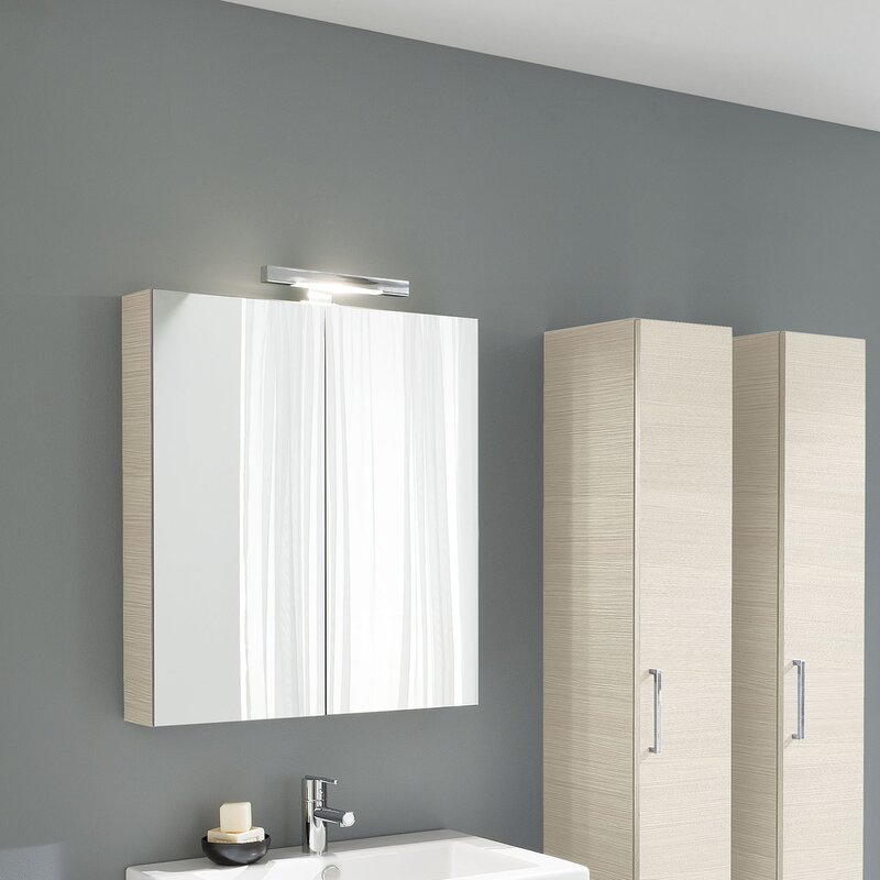 """2 Door Cupboard Inside Designs acquaviva light y 2 door 27.6"""" x 31.5"""" surface mount medicine"""