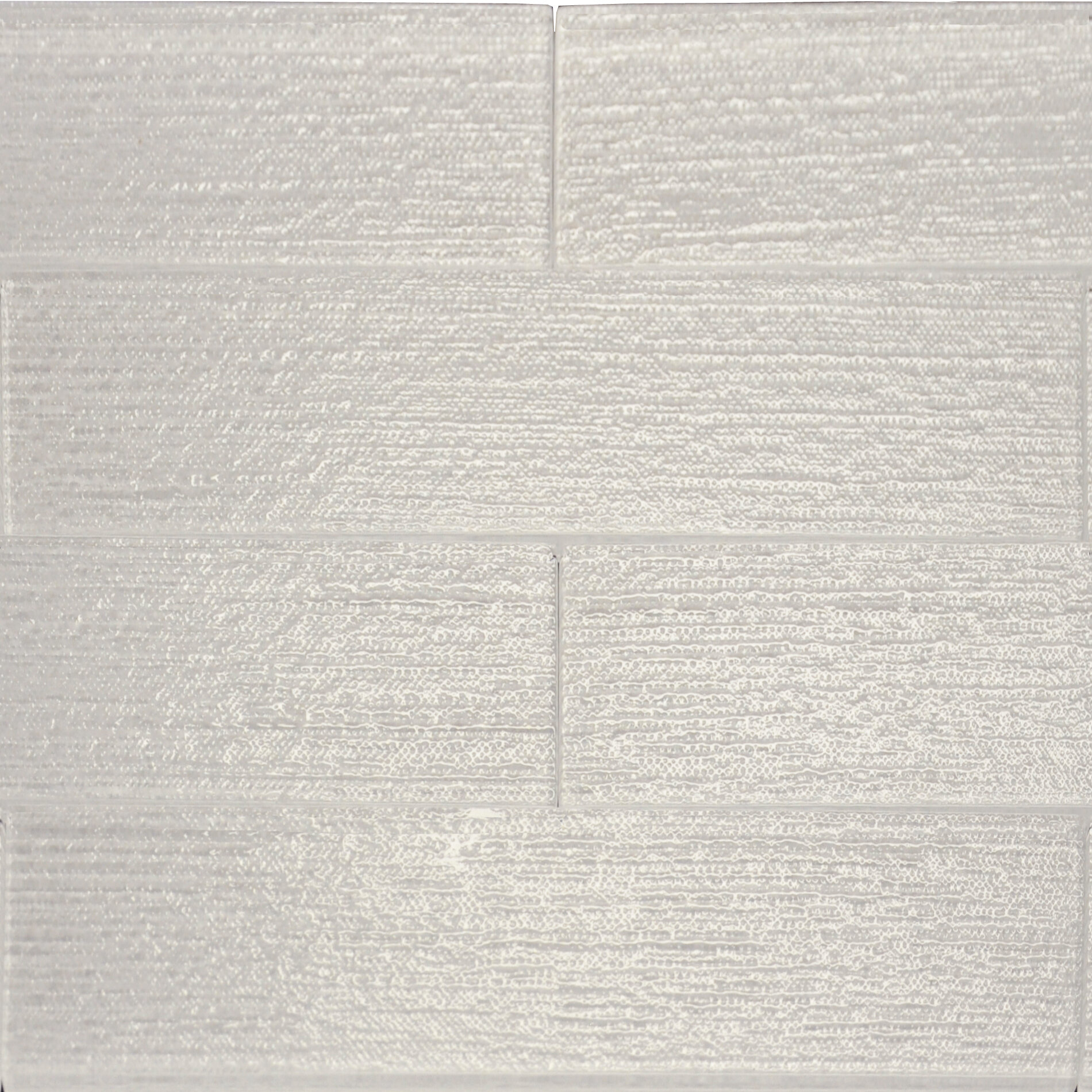 The Bella Collection Linen Textured 3 X 12 Glass Subway Tile In