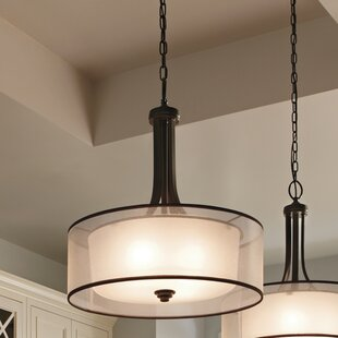 Best Reviews Lightle 3 Light Drum Pendant By Darby Home Co