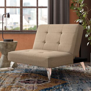 Trent Austin Design Lewis Solid Click-Clack Oversized Convertible Chair