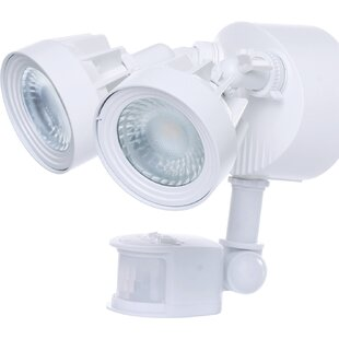 Nuvo Lighting 24-Watt LED Outdoor Security Flood Light with Motion Sensor
