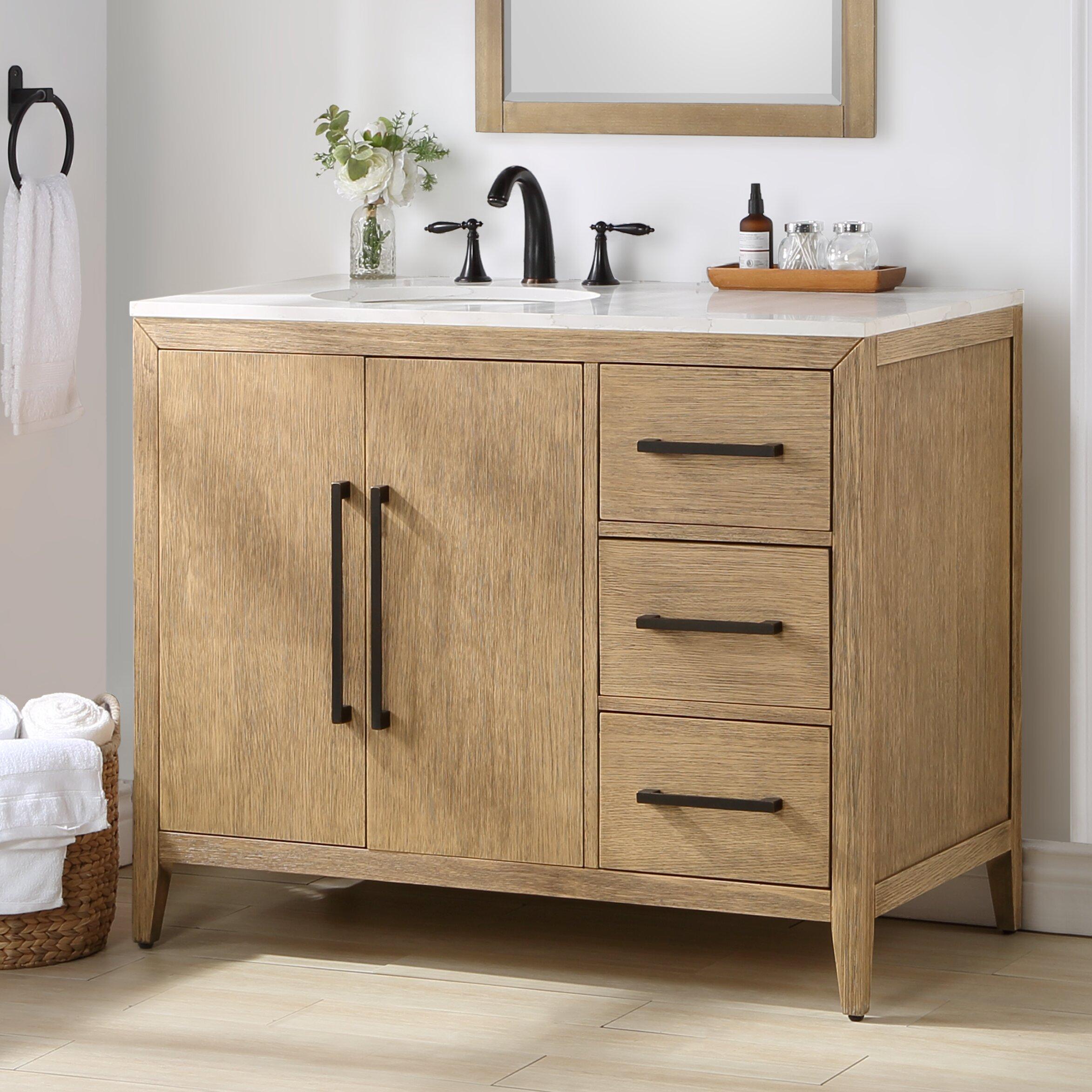 Highbury Furnishings Chiswick 42 Single Bathroom Vanity Wayfair