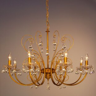 Classic Lighting Belleair 8-Light Candle Style Chandelier