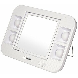 Great Price LED Lighted Makeup/Shaving Mirror By Symple Stuff