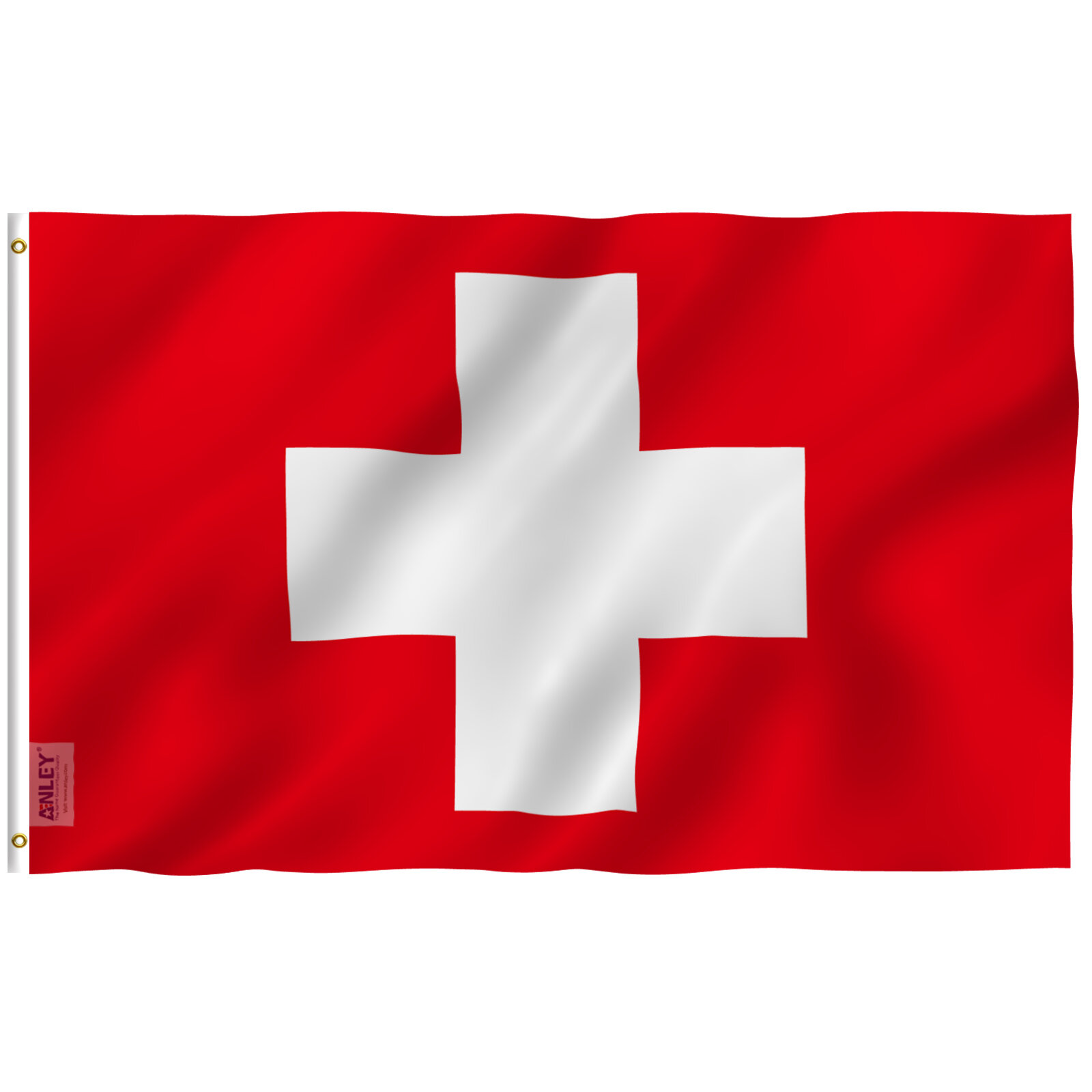 Anley Switzerland 2 Sided Polyester 36 X 60 In House Flag Wayfair