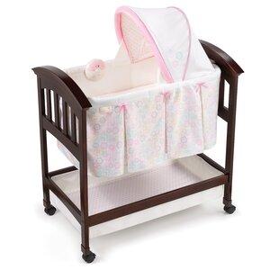 Classic Comfort Bedtime Blossom Wood Bassinet