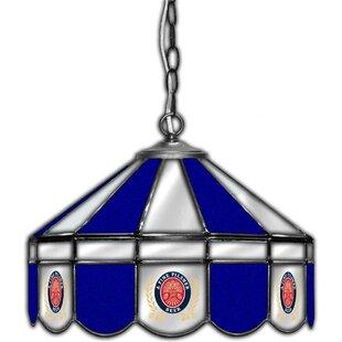 ALL AMERICAN LAMPS Miller Lite 1-Light Pool Table Lights Pendant