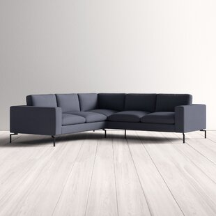 Modern Contemporary Small Loveseat Sectional Allmodern