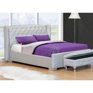 Upholstered Platform Bed by BestMaster..